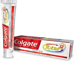 Colgate<sup>®</sup> Total 12 Clean Mint