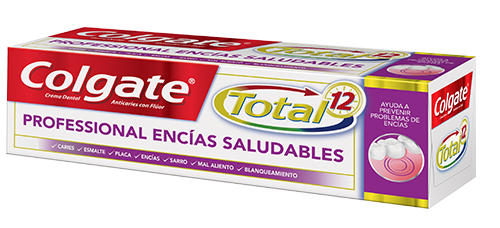 Crema Dental Colgate<sup>&reg;</sup> Total 12 Professional Encías Saludables