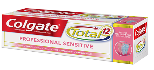 Crema Dental Colgate<sup>&reg;</sup> Total 12 Professional Sensitive